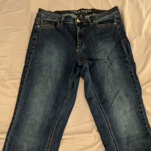Love and Legend plus size skinny jeans